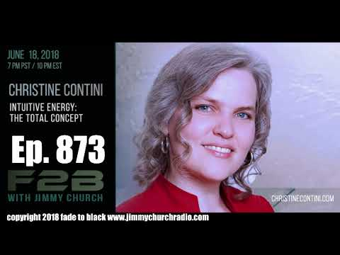Ep. 873 FADE to BLACK Jimmy Church w/ Christine Contini : New Book: Death: Awakening to Life : LIVE