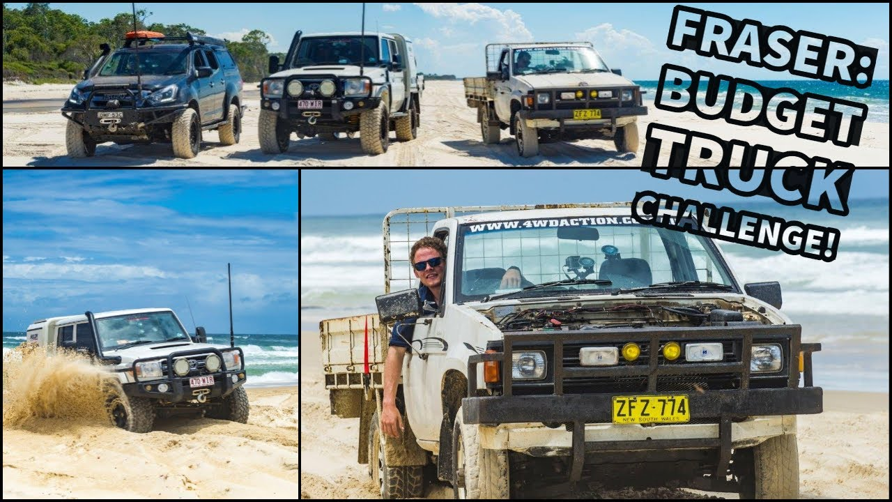Download BUDGET 4WD CHALLENGE! $1000 ute takes on Fraser Island!