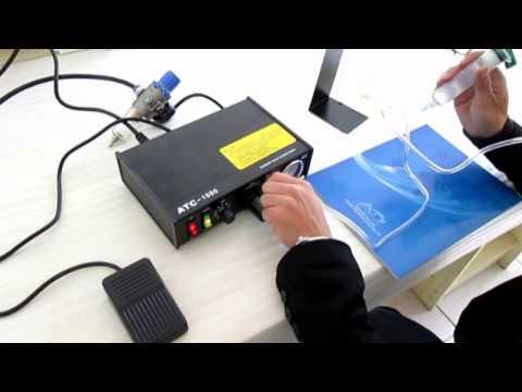 Paste Liquid Glue Dispenser Manual Instruction Dispensing Machine 160998