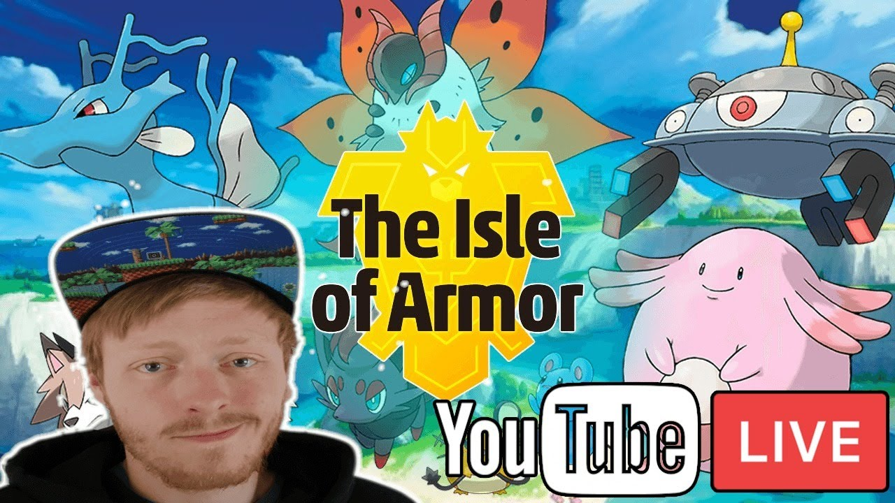 MAX RAID BATTLES WITH SUBS! - THE ISLE OF ARMOUR - Pokemon Sword!
