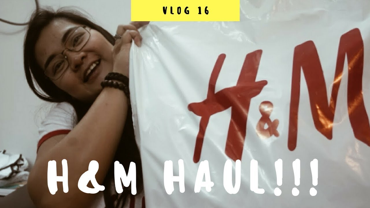 H&m Haul  First Vlog 2017  Kristal Ginete Youtube