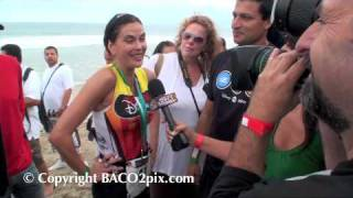2009 Malibu Nautica Triathlon Teri Hatcher Madness
