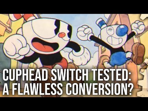Cuphead on Switch is a stunning conversion