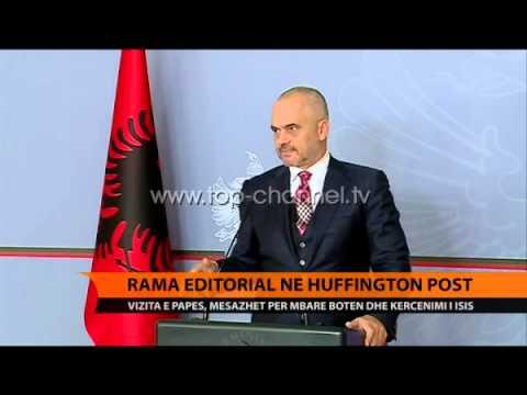 Artikull i Ramës në Huffington Post - Top Channel Albania - News - Lajme