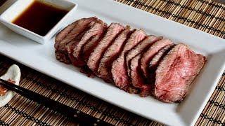 Pan-Fried Roast Beef Recipe - Japanese Cooking 101