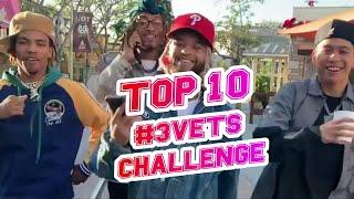 TOP 10 BEST 3 VETS CHALLENGE | NOTORIOUZ