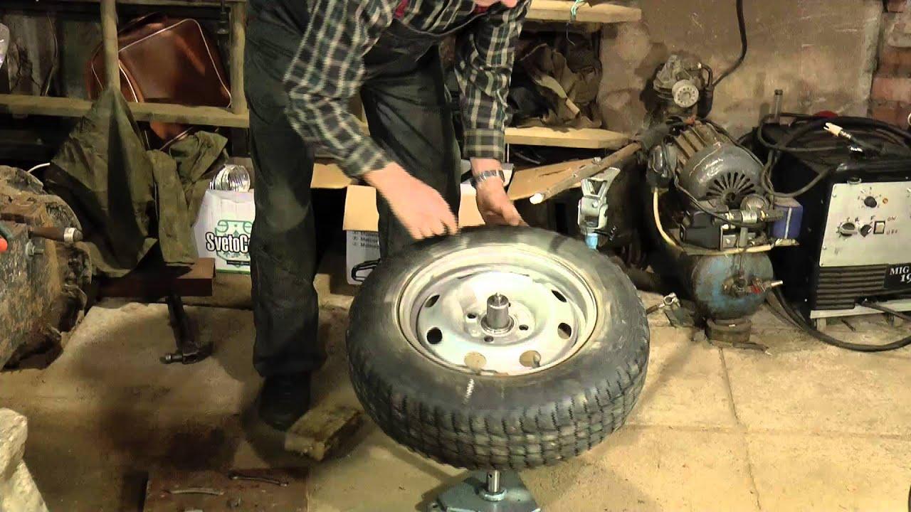 Динамическая балансировка колёс.