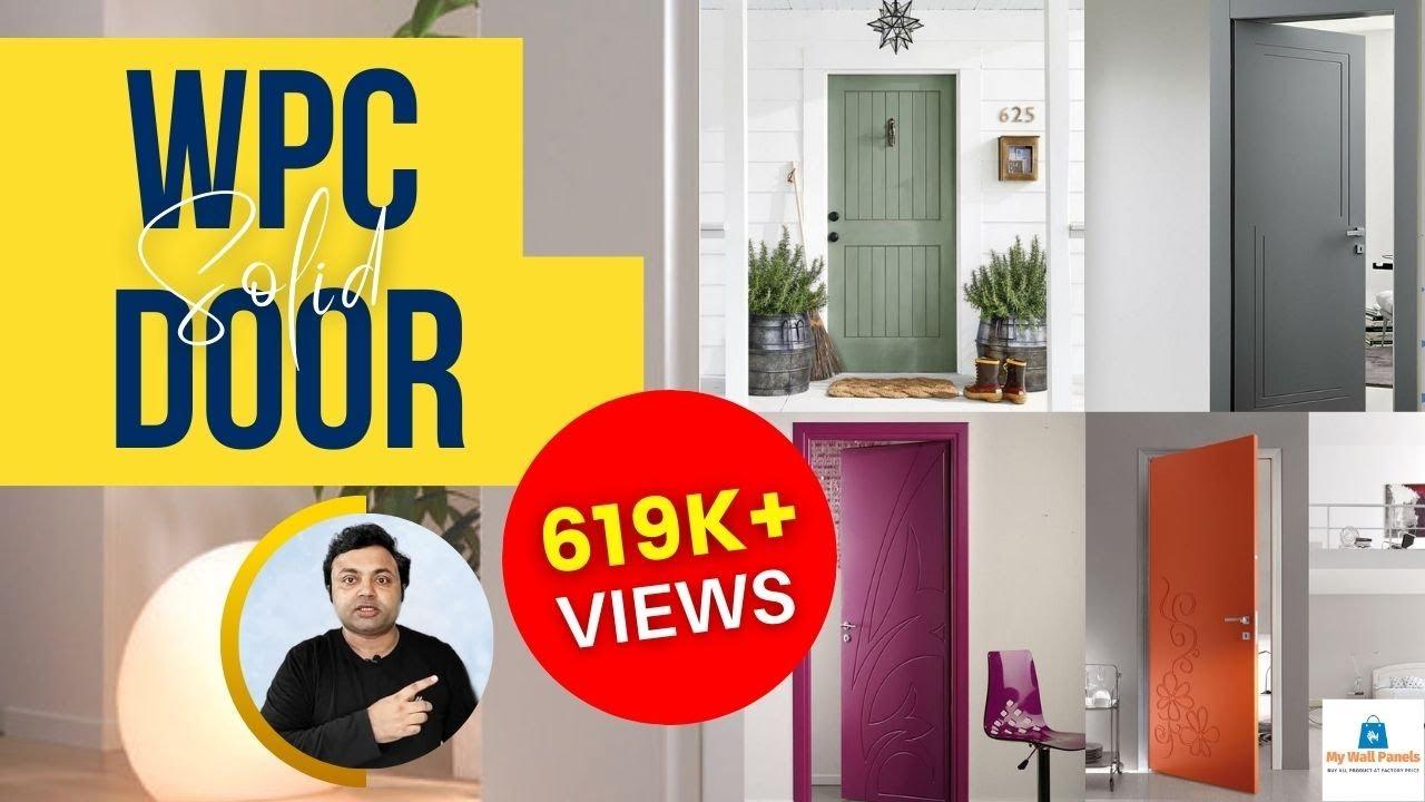 Wpc Solid Doors Design Wpc Doors For Bedroom L Stylist Wpc Door Design For Bathroom Modular Door Youtube