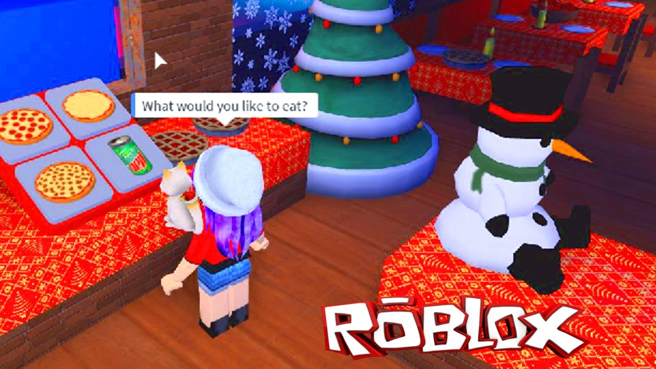 ROBLOX WORK AT A PIZZA PLACE | WORKING ON CHRISTMAS EVE | RADIOJH ...