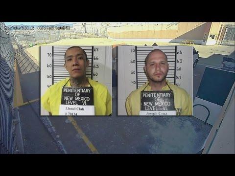 New Mexico seeks to fire 2 guards in prison escape