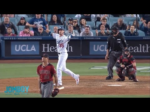Bellinger goes deep to give the Dodgers their 5th straight walk off at home, a breakdown