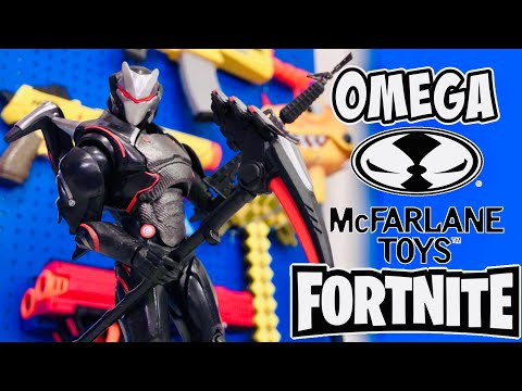 FORTNITE TOYS OMEGA Action Figure From McFarlane Toys Unboxing & Review IN STORES NOW