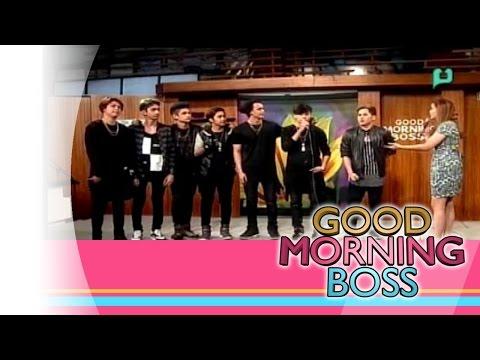 [Good Morning Boss] Panayam sa ELEV8 [02|09|16]