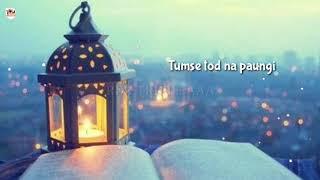 Sau Baar Talash Liya Khud ko   Lyrical   Sad Whatsapp Status Video   Special For Girls