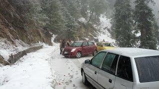 SLIDING CARS IN MURREE
