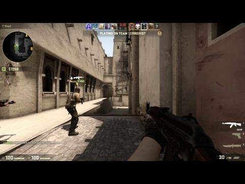 Csgo and a little bit of smash talk but then again csgo