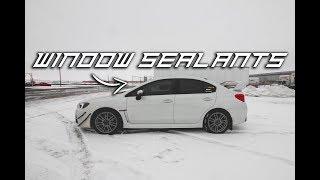 How to Apply Glass / Windshield Sealants | 2016 Subaru WRX