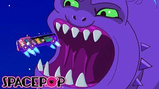 Eating Healthy | SpacePOP Season 7 Episode 10 | Kid Genius Cartoons
