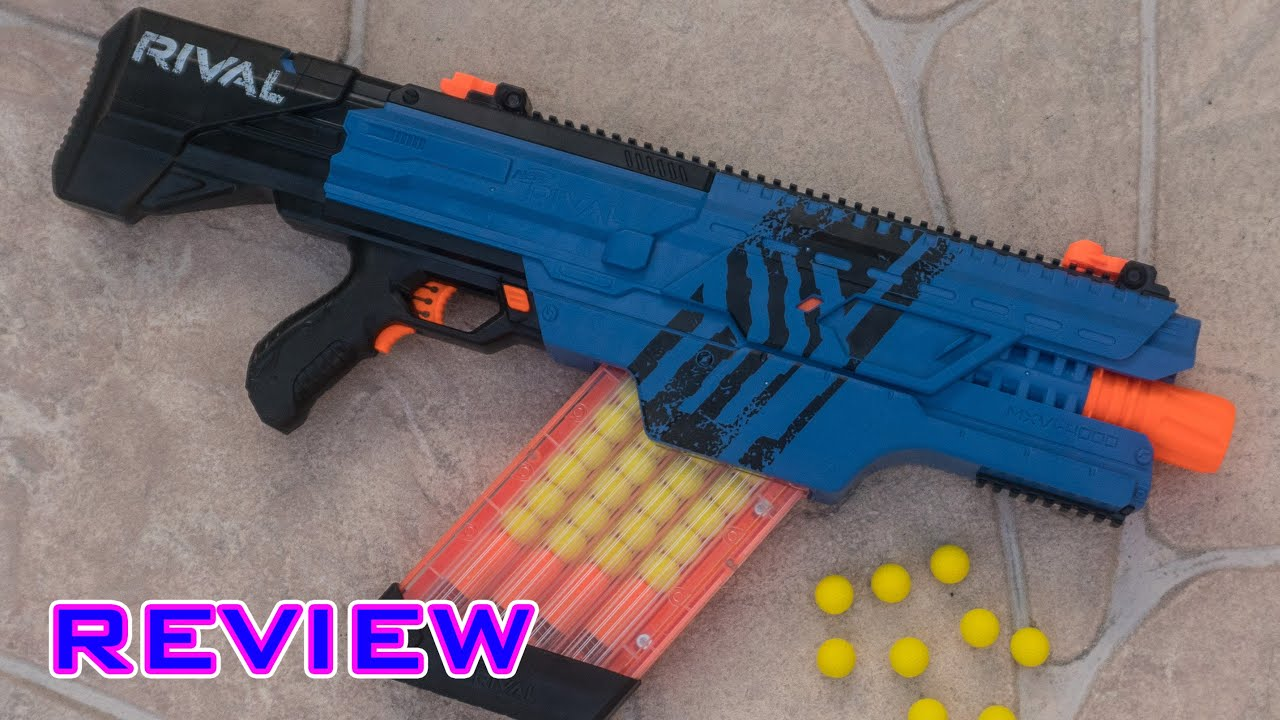 [REVIEW] Nerf Rival Khaos MXVI 4000 Unboxing Review & Firing Test