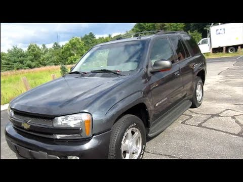 2004 Chevrolet Trailblazer >> 2004 Chevrolet Trailblazer Lt Start Up Engine In Depth Tour