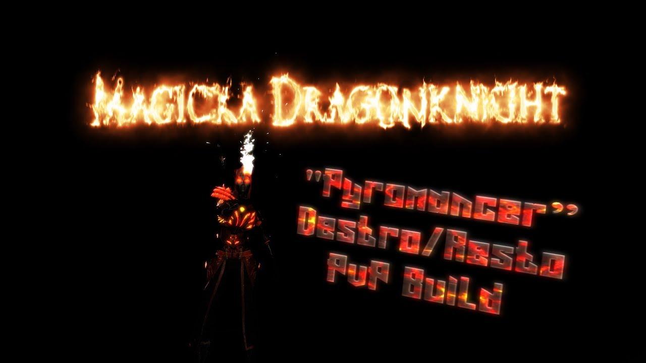 ESO - Magicka Dragonknight