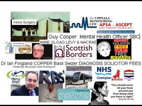 Guy cooper Fingland Switzer 7th sectioning threat by LAW &Compulsory Treatment ORDER for £££££