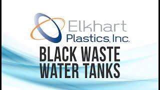 "8 Gallon RV Holding Tank 17 3/4"" x 17 3/4"" x 8 1/4"" Elkhart Plastics EPI 3772"