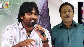 Reviews are just Opinions, NOT final Truths : Vijay Sethupathi Speech   Vivegam Negative Reviewer