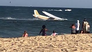 ABD'de motor arızası yaşayan tek kişilik uçak denize zorunlu iniş yaptı
