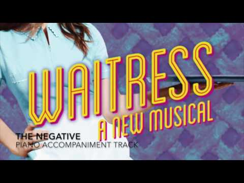 The Negative - Waitress - Piano Accompaniment/Karaoke Track