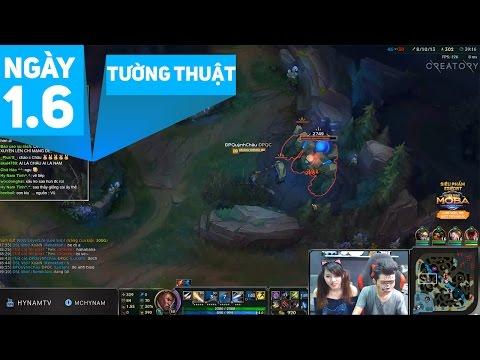 Hy Nam Stream - Tường thuật ngày 1.6