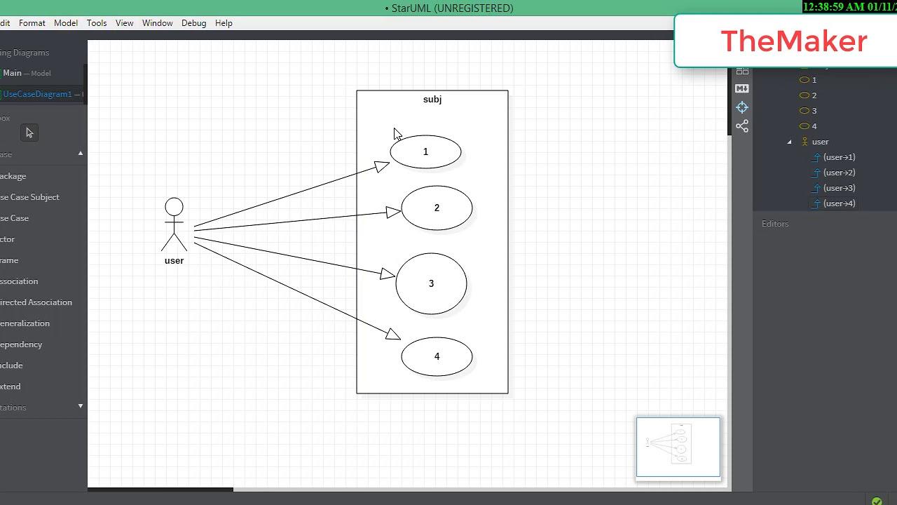How To Draw A Uml Diagram