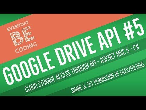 Google Drive API v3 - Manage Share & Set User Role