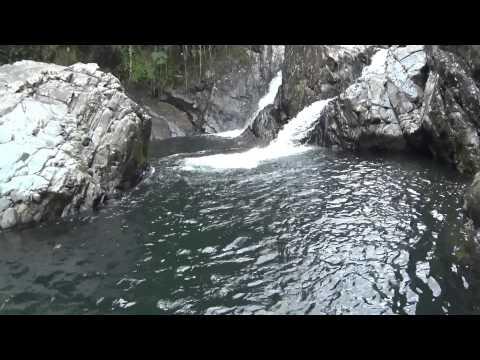 Rio las Tinajas Fajardo, Puerto Rico (sony as100) 1080p