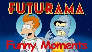 Futurama Funny Moments || Futurama Best Moments-Fry,Amy,Hermes,Farnsworth,Zoidberg,Bender and Leela