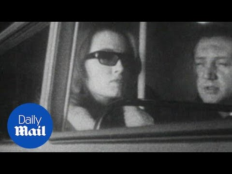 News reel from the Profumo scandal that shook British politics - Daily Mail