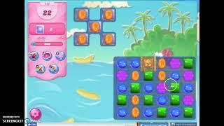 Candy Crush Level 606 UPDATE, fill mini game boosters fast screenshot 3