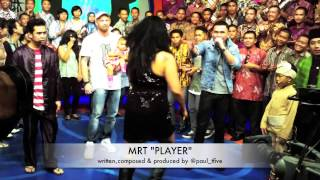 Melaney Ricardo+Roy+Tyson MRT 12 januari @dahSyatMusik