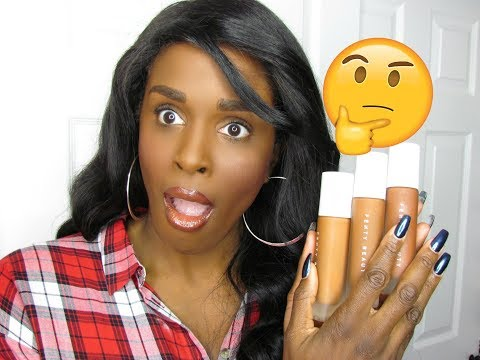 FULL FACE OF FENTY BEAUTY BY RIHANNA | 1ST IMPRESSION & FULL DEMO! | *REAL & HONEST REVIEW*