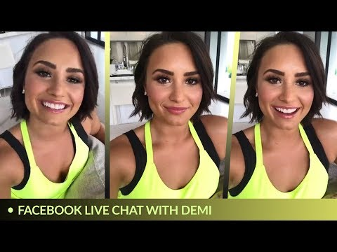 Demi Lovato - Live Chat (Facebook Live) May 2017