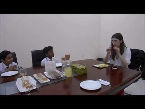 Katherine Rundell at New Delhi Private School Sharjah