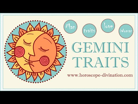 Gemini Traits ♊ All About GEMINI Zodiac Sign ━ Love, Facts & Life ━