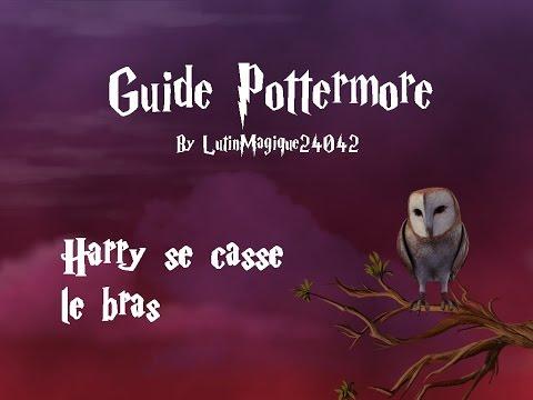 Guide Pottermore // Harry se casse le bras...