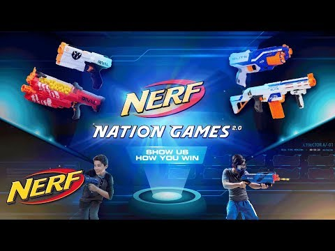 NERF Singapore - 'NERF Nation Games 2.0' Official Commercial