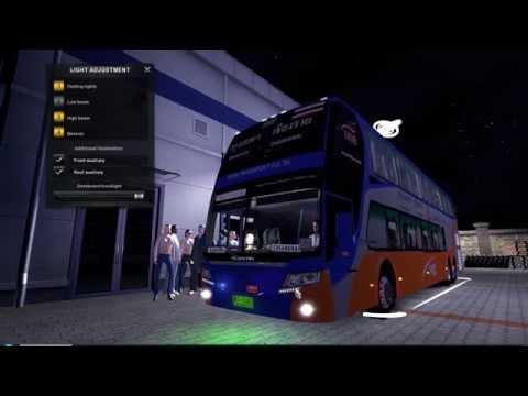 Thailand Eurotruck Simulator 2 ModBus บขส. เกรียน..! แดนซ์กระจาย