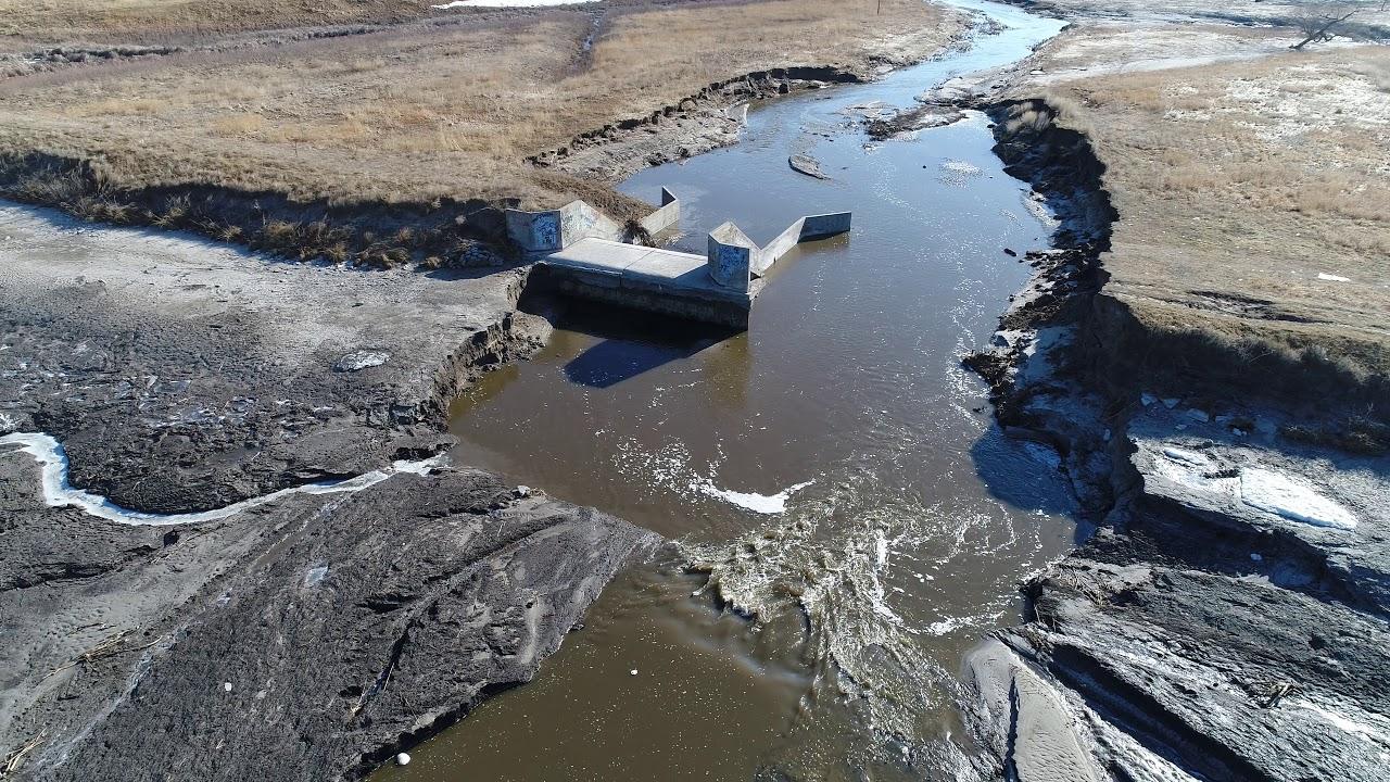 Hidden Timber Dam break