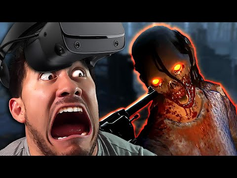 ZOMBIES IN YOUR FACE!! | The Walking Dead: Saints and Sinners