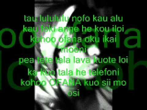 Tongan Love song Lyrics