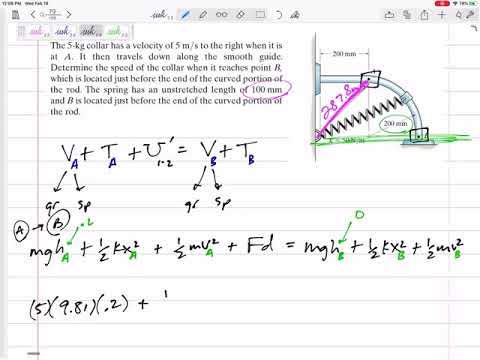 Dynamics - Conservation Of Energy Example 3