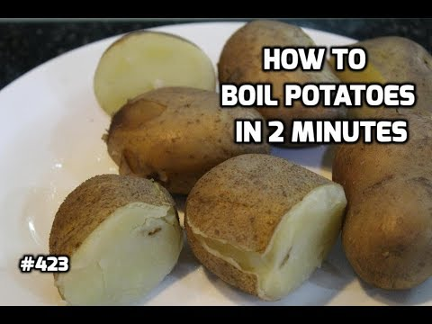 How To Use A Pressure Cooker To Boil Potatoes | How to Boil Potatoes |